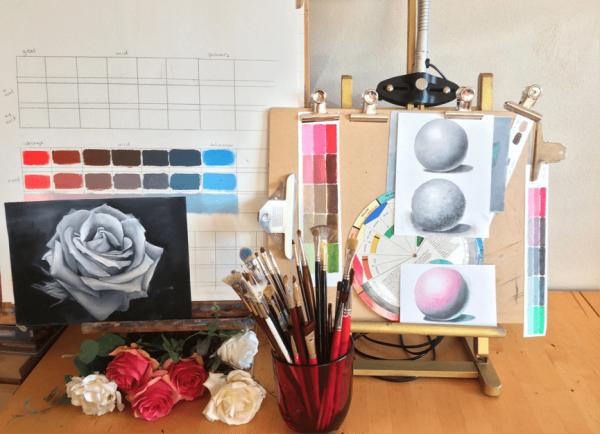 Cursus moeiteloos schilderen met hart & ziel - Chantal Magazine